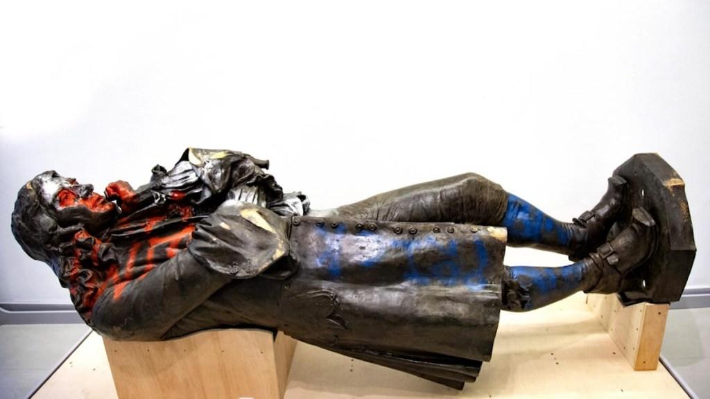 Sin destino, la estatua de Edward Colston