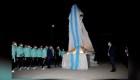 Messi encabeza la inauguración de la estatua de Maradona