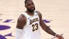 LeBron James da razón de la eliminación de los Lakers