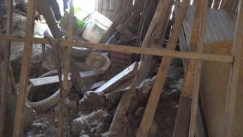 En Honduras persisten los daños de huracanes de 2020