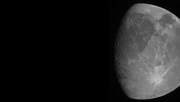 Ve las nuevas fotos de Ganímedes, la luna de Júpiter