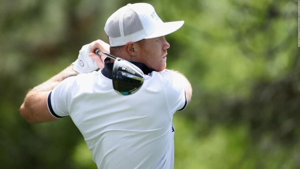 Saúl Álvarez will face professional golfers
