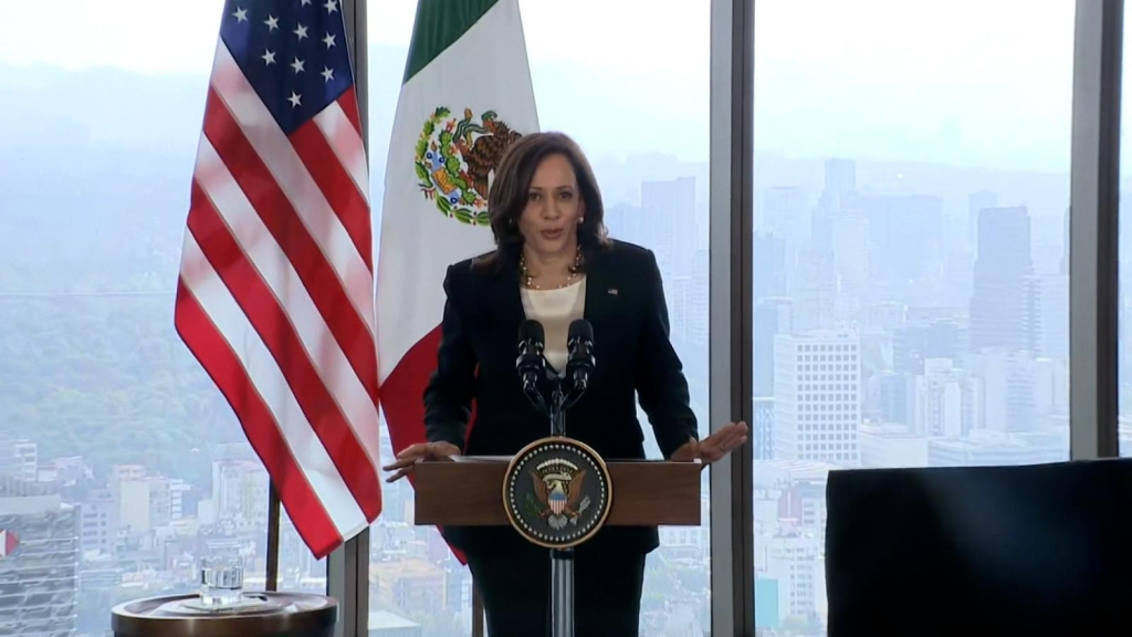 Kamala Harris: I will visit the US-Mexico border.