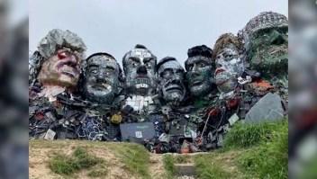 Mira a los líderes del G7 hechos con desechos electrónicos