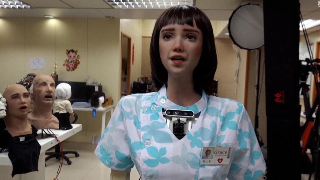 Este robot podría cuidarte si te enfermas de covid-19