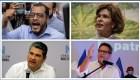 Los 4 precandidatos opositores detenidos en Nicaragua