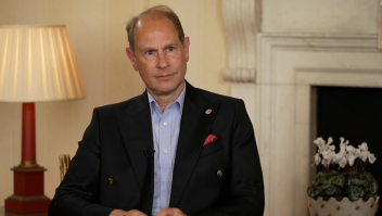 El príncipe Eduardo habla sobre la familia real