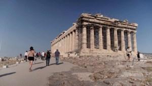 Intenso debate por nueva rampa en la Acrópolis de Atenas