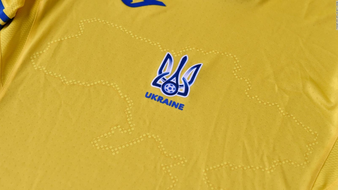 ¿Por qué la UEFA pidió a Ucrania modificar su camiseta?
