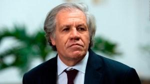 Luis Almagro Almagro sobre Nicaragua: Se debería actuar cuanto antes