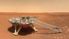China revela selfies de su rover Zhu-Rong en Marte