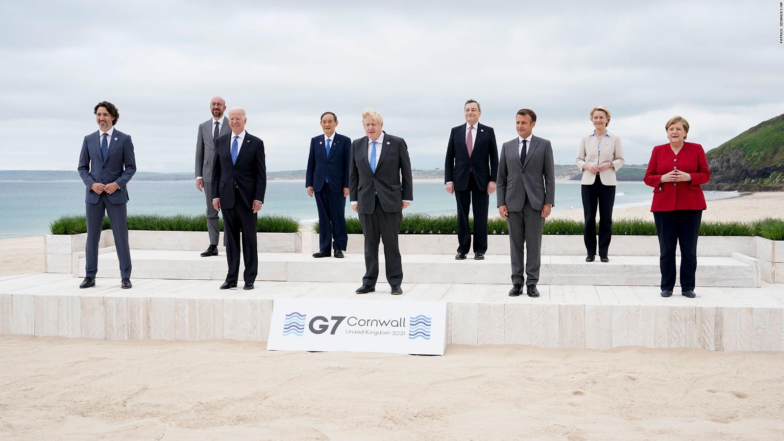 El G7 pide un nuevo estudio sobre los orígenes del covid-19 y expresa preocupación sobre China