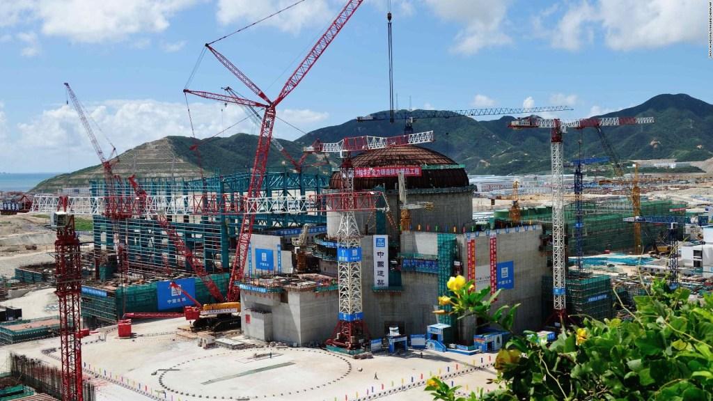 Preocupación por posible fuga en planta nuclear china