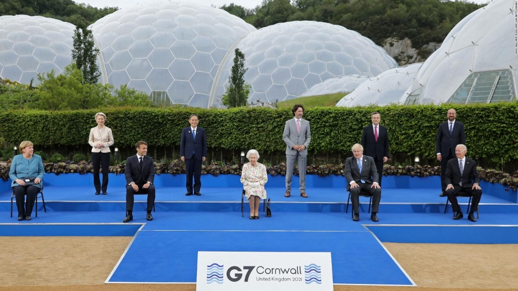 Miembros del G7 se reúnen en Gran Bretaña