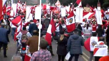 Manifestaciones en Perú tras elecciones presidenciales