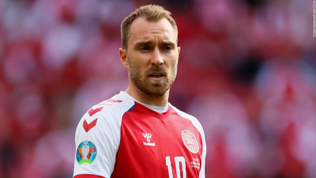 Christian Eriksen manda mensaje desde el hospital a sus compañeros de Dinamarca luego de colapsar en partido de la Eurocopa