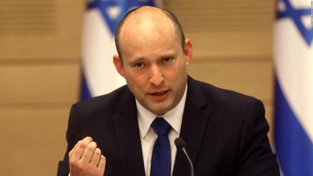 Naftali Bennett llama a la unidad en el Parlamento