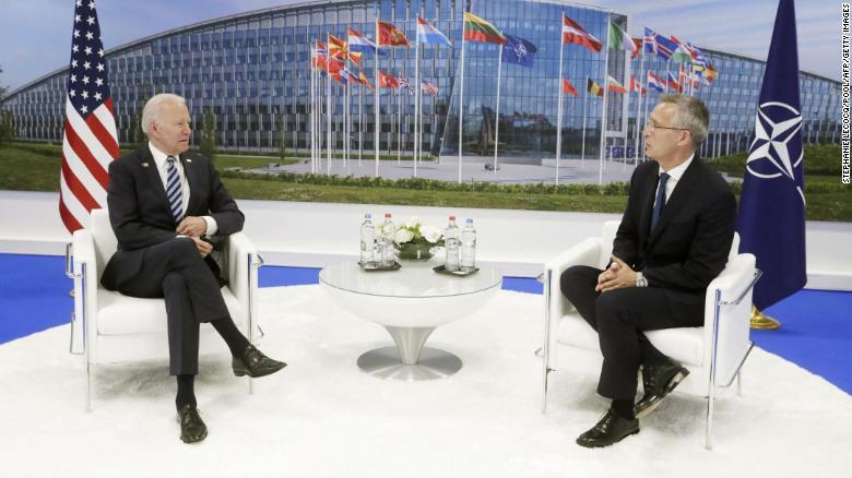 Joe Biden llega a la OTAN para su primera visita como presidente