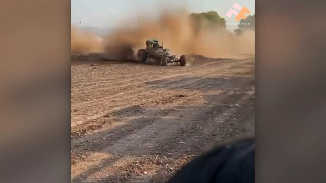 Video muestra vehículo de competencia arrollar al público