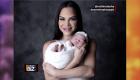 Natti Natasha comparte fotos con su pequeña bebé