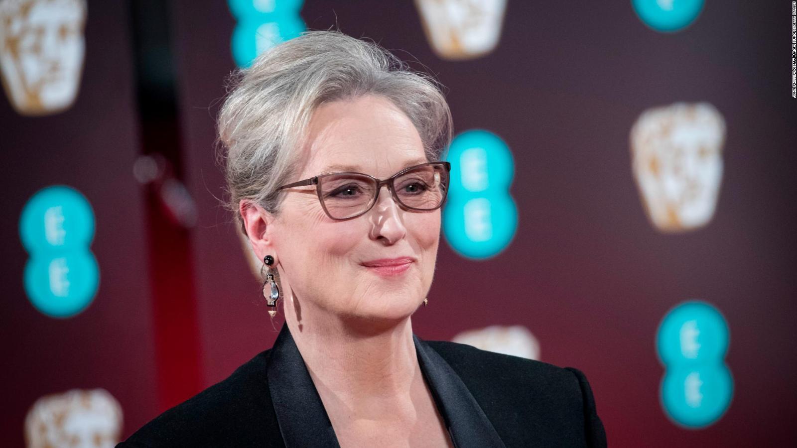 La actriz Meryl Streep celebra su cumpleaños número 72