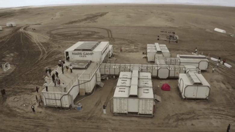 China construye una base de simulación de Marte