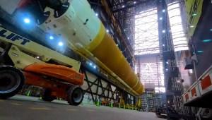 El megacohete de la NASA que llevará humanos a la Luna