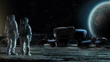 Así es el vehículo que desarrolla GM para ir a la Luna