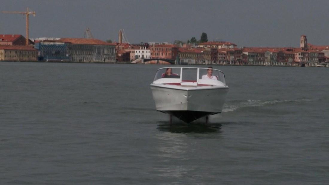 Este barco eléctrico podría ser una solución en Venecia