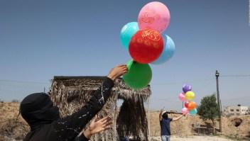 ¿Por qué globos incendiarios aumentaron tensión en Gaza?