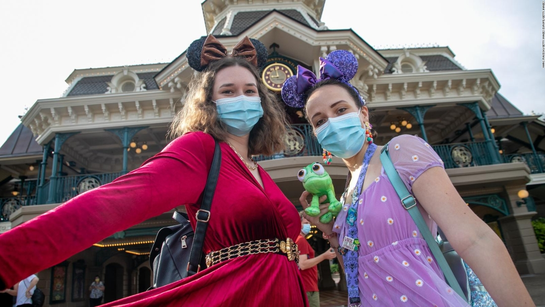 Disneyland París reabrió sus puertas
