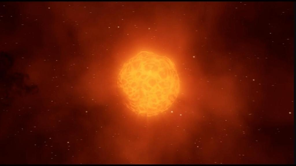 Mira cómo la estrella Betelgeuse perdió su brillo