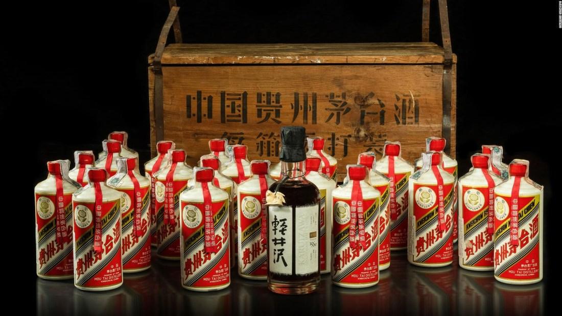 Este licor se vendió por más de US$ 1 millón