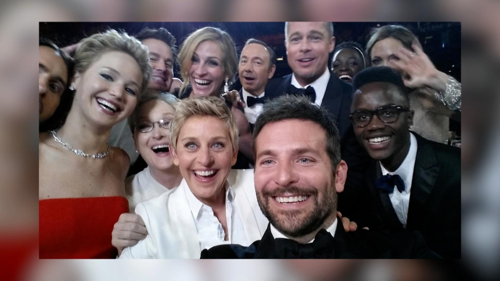 Five 'selfies' that remained in history