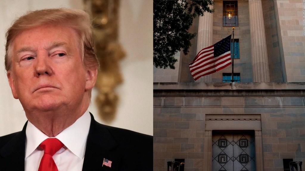 ¿Qué pasó en el Departamento de Justicia de Trump?