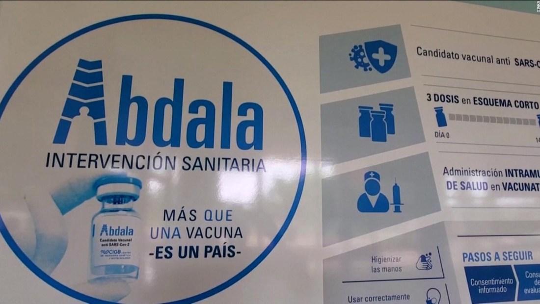 La vacuna cubana Abdala requiere de 3 dosis