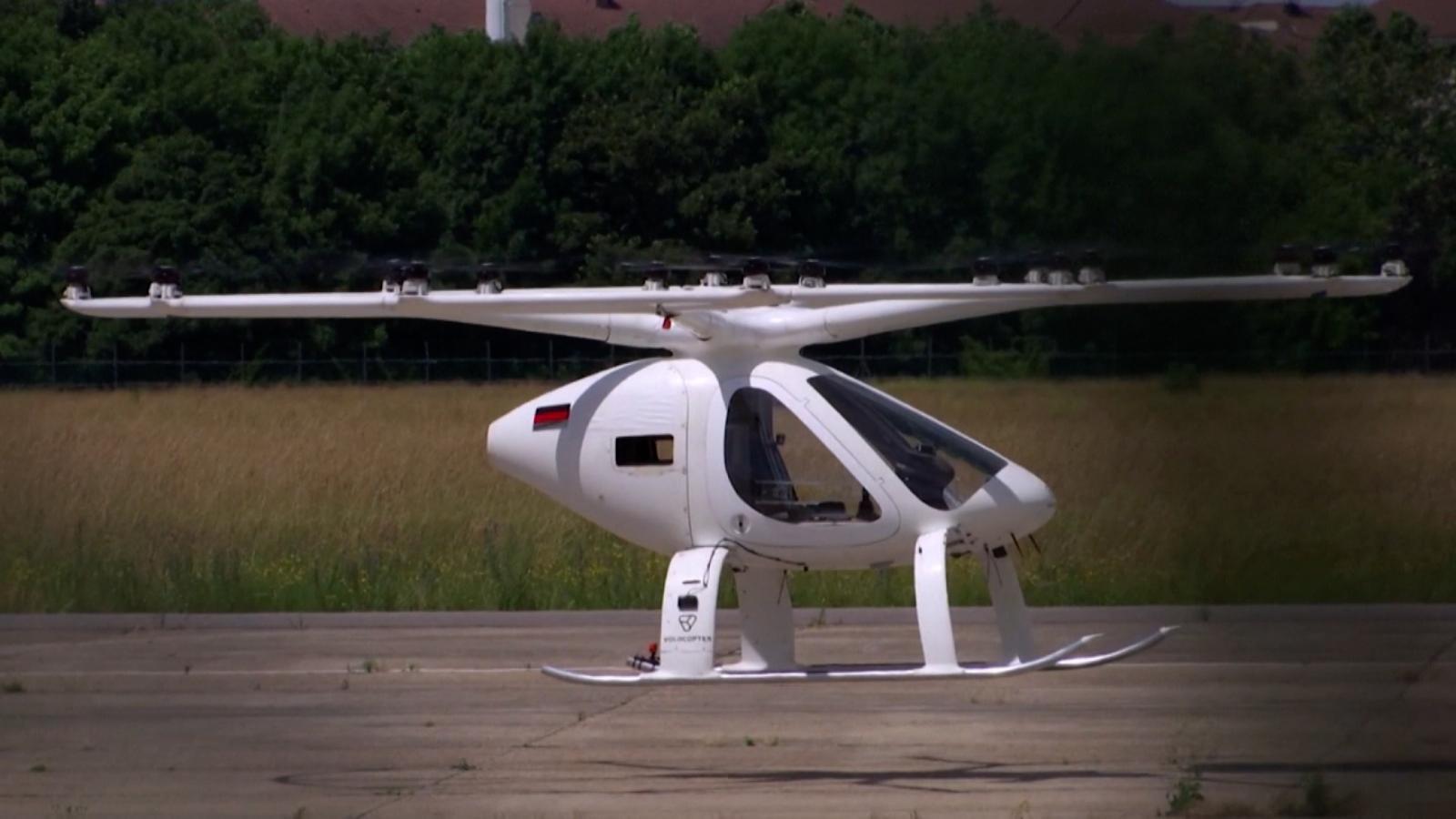 Este taxi eléctrico aéreo pasó la prueba de vuelo, mira los detalles