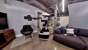 Conoce al robot que se toma selfies mientras trabaja