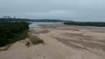 Sequía en Brasil atraviesa fronteras y afecta a Argentina