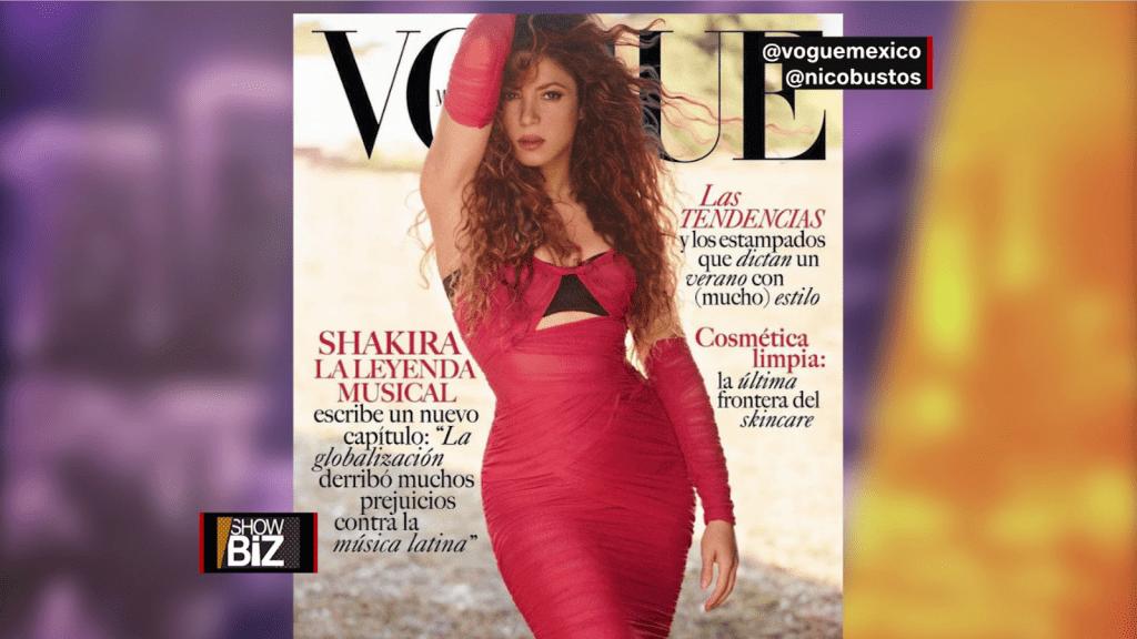 Shakira séduit en couverture de Vogue Mexico