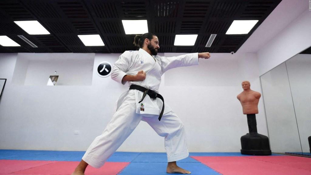 Este bicampeón mundial de karate busca medalla en Tokio