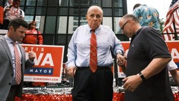 Duro golpe para Giuliani, exabogado personal de Trump