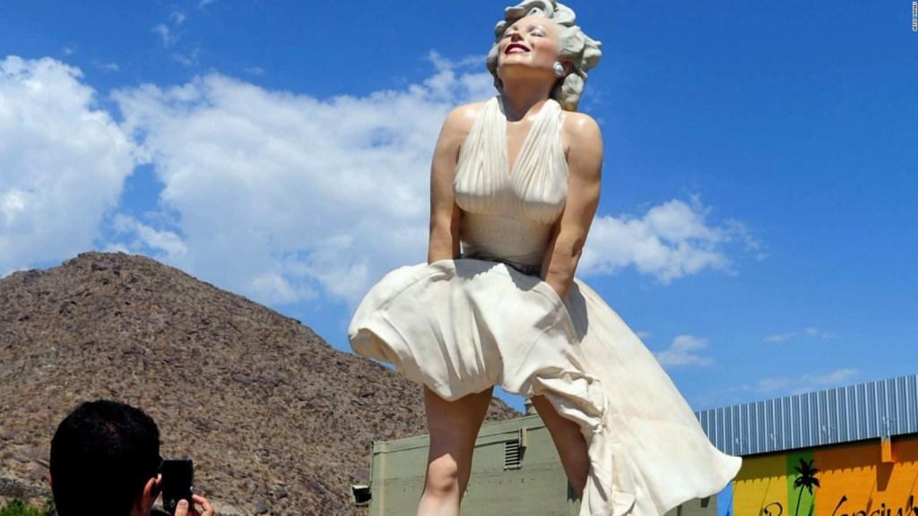 Marilyn Monroe statue controversy