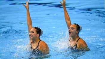 Estas nadadoras artísticas colombianas sueñan con una medalla