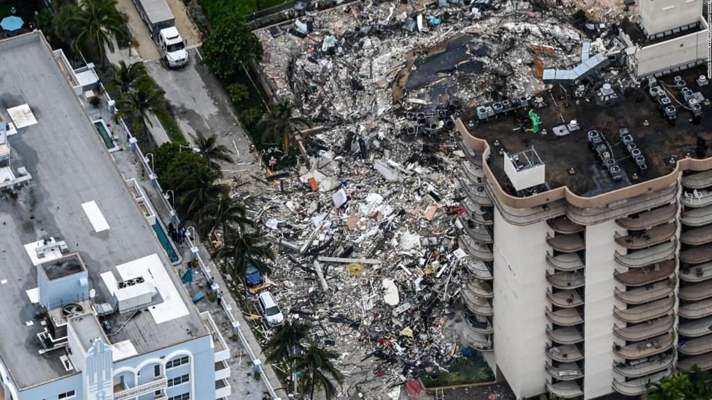 Nueve argentinos desaparecidos en derrumbe de edificio