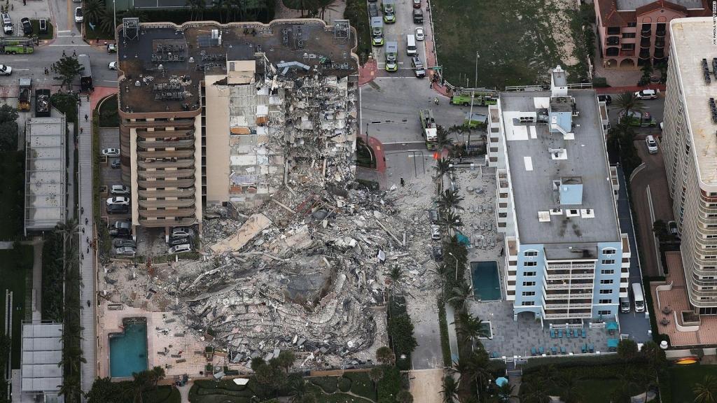 Así consiguió escapar del derrumbe en Miami