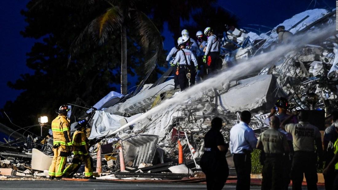 Solidaridad del deporte ante la tragedia de Miami