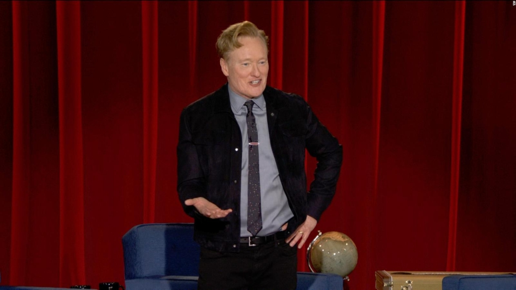 This is how Conan O'Brien ended his last show