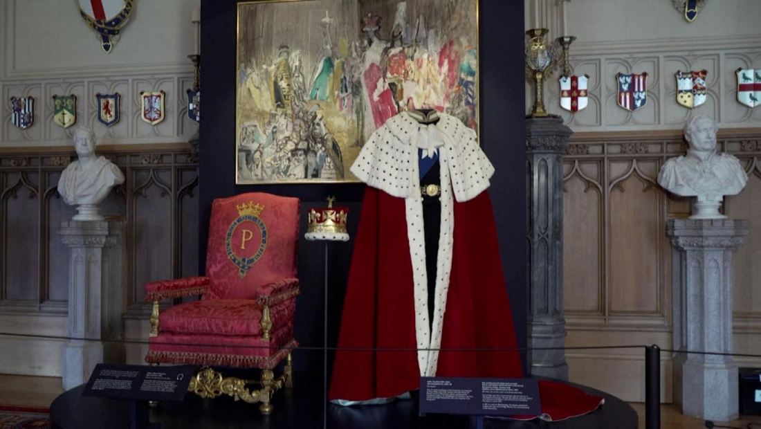 Más de 100 objetos del príncipe Felipe, en una muestra