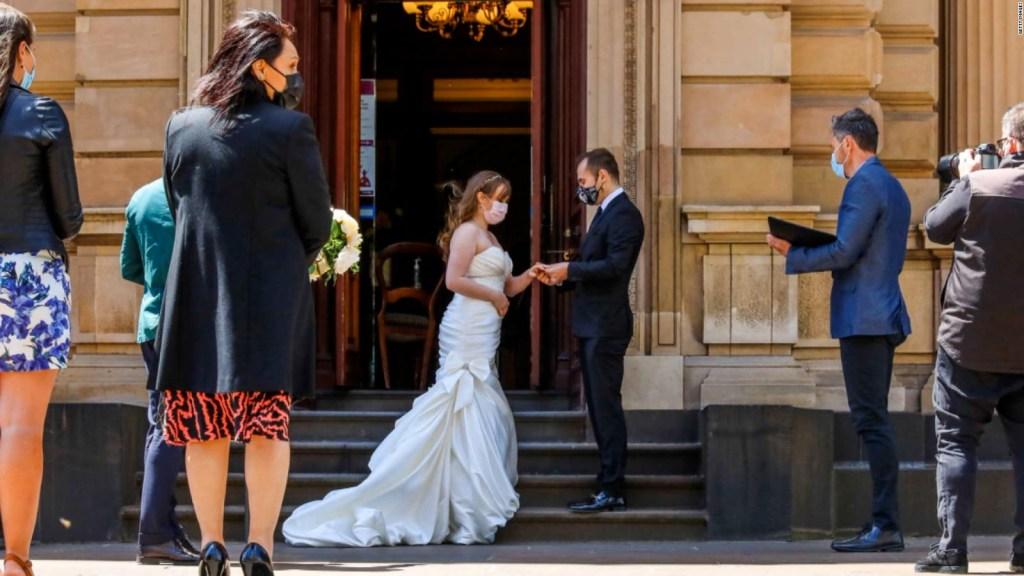 Después de la pandemia, las bodas están de regreso